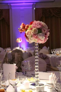 enrose wedding floral arrangement